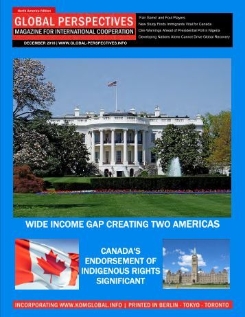 magazine for international cooperation - Global Perspectives