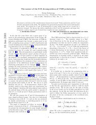 arXiv:astro-ph/0106174 v1 10 Jun 2001 - iucaa
