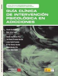 Guía clínica de intervención psicológica en adicciones