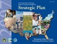 2007 Strategic Plan - U.S. Department of Energy