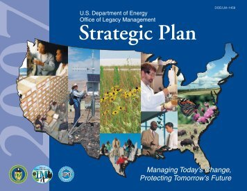 2007 Strategic Plan - U.S. Department of Energy