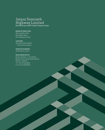 jetpur Somnath Highway Limited - IDFC