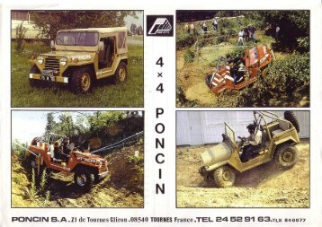 Mutt 4x4 from Poncin