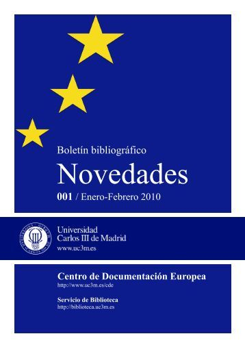 enero/febrero 2010 - Universidad Carlos III de Madrid
