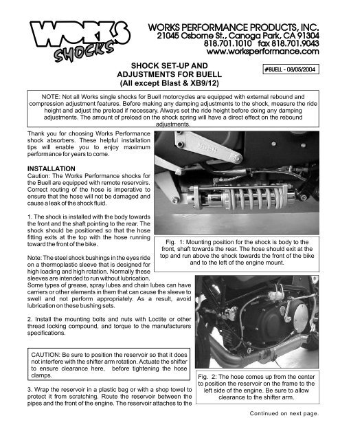 BUELL INSTRUCTIONS2 cdr - Works Shocks