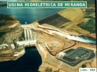 USINA HIDRELÉTRICA DE MIRANDA - Cemig