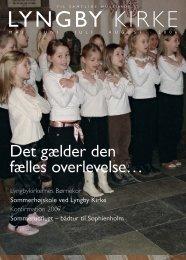 Lyngby kirkeblad maj - august 2006