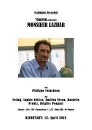 Monsieur Lazhar – Presseheft - Thimfilm