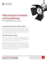 Read the pdf version of this Case Study - Intelerad