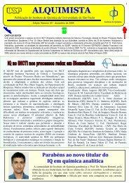 Alquimista nº 49 - Instituto de Química - USP