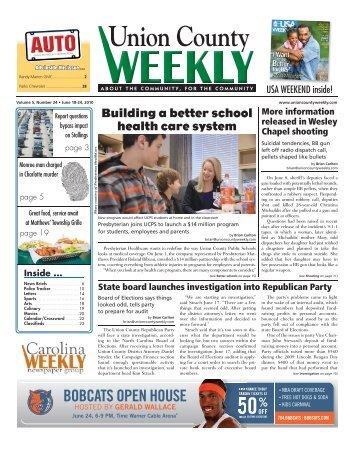 Union County Inside - Carolina Weekly Newspapers
