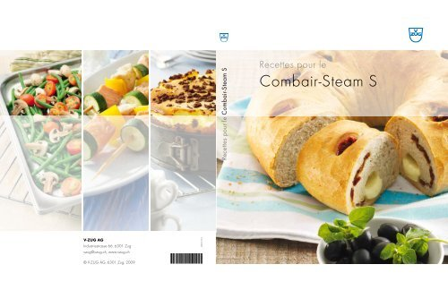 Livre De Recettes Combair Steam S Pdf 3 9 Mb V Zug Ltd