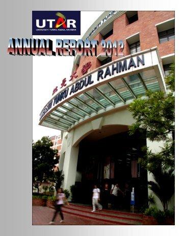 2012 Annual report committee - Universiti Tunku Abdul Rahman