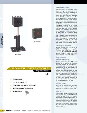 Specification pdf - Laser Lines Ltd.