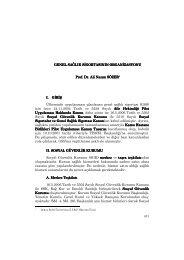 Prof. Dr. Ali Nazım SÖZER - Kamu İşletmeleri İşverenleri Sendikası