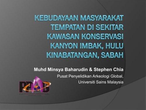 Muhd Minsya Baharudin & Stephen Chia - Akademi Sains Malaysia