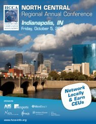 NORTH CENTRAL Regional Annual Conference - Health Care ...