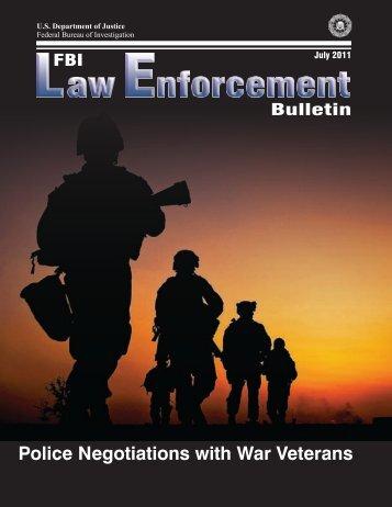 Police Negotiations with War Veterans - Pennsylvania Mental Health ...