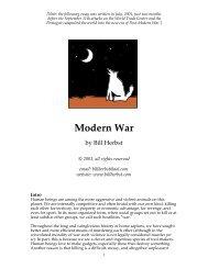 Modern War - Bill Herbst, astrologer
