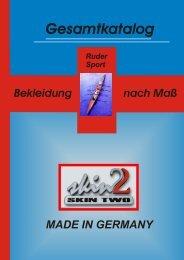 Katalog Rudersport