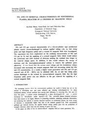 PLASMA REACTOR IN A CROSSED DC MAGNETIC FIELD - isesp