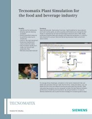Plant Simulation for the Food and Beverage Industry - cards PLM ...