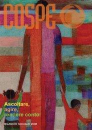 Bilancio Sociale Cospe 2008
