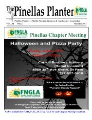 Pinellas Chapter Meeting - Florida Nursery, Growers and ...