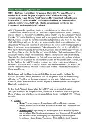Vereins-Newsletter - Ausgabe Nr. 13 II/01 - Vitamine-Vital