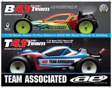 Instruction Manual - Team Associated