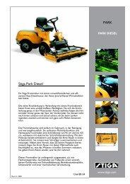 Stiga Park Diesel PARK - IMA Aschaffenburg