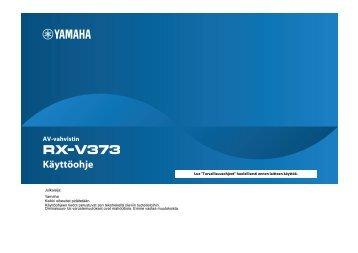 1 Paina OPTION-painiketta. - Yamaha