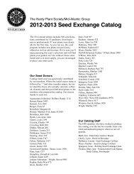 Download Catalog - Hardy Plant Society - Mid-Atlantic Group