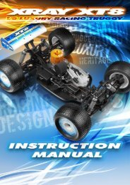 XRAY XT8 Instruction Manual (pdf) - English