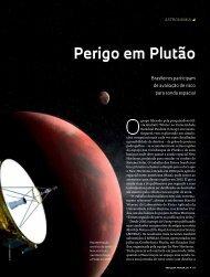 Perigo em Plutão - Revista Pesquisa FAPESP