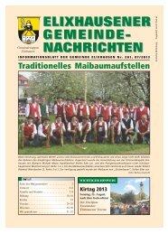 Gemeindenachrichten Nr. 261 - Gemeinde Elixhausen