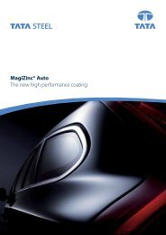 MagiZinc® Auto - Tata Steel in the automotive industry