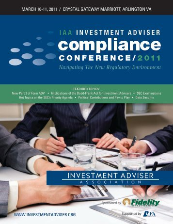 View the Conference Brochure - Groom Law Group