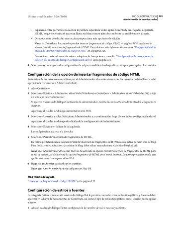 Descargar Adobe Contribute CS5 3 - Mundo Manuales