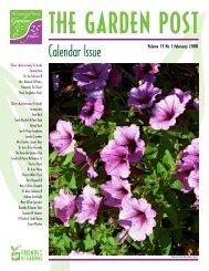 Calendar Issue - UT Gardens - The University of Tennessee