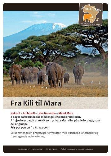 Fra Kili til Mara