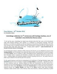 Press Release – 10 October 2012 Colombiage celebrates its 5 ...