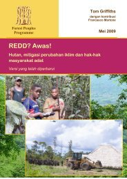 REDD? Awas! - Forest Peoples Programme