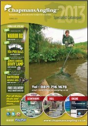 Specialist Summer 2013 S10 - Chapmans Angling
