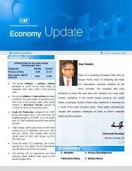 Economy Update 19-25 September - CII