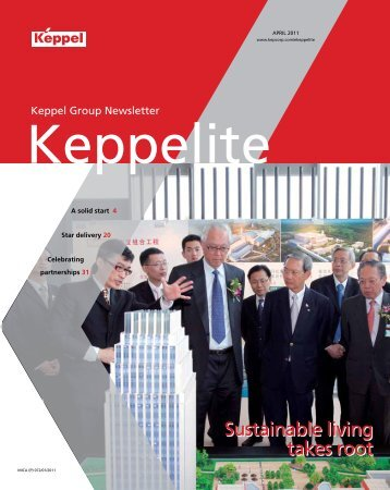 April 2011 - Keppel Corporation