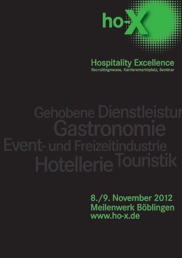 Touristik - ho-X Hospitality Excellence