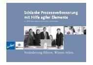 Schlanke Prozessverbesserung mit Hilfe agiler ... - wibas GmbH