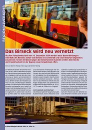 Das Birseck wird neu vernetzt - Birseck Magazin