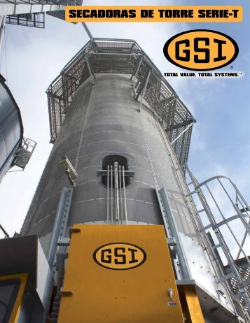 T-Series Tower Dryers (SPANISH) - GRAIN SYSTEMS INC.